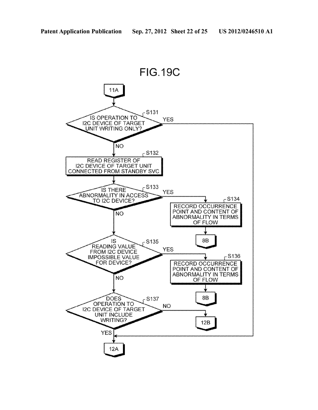 INFORMATION PROCESSING APPARATUS, CONTROL DEVICE, AND ABNORMAL UNIT     DETERMINATION METHOD - diagram, schematic, and image 23