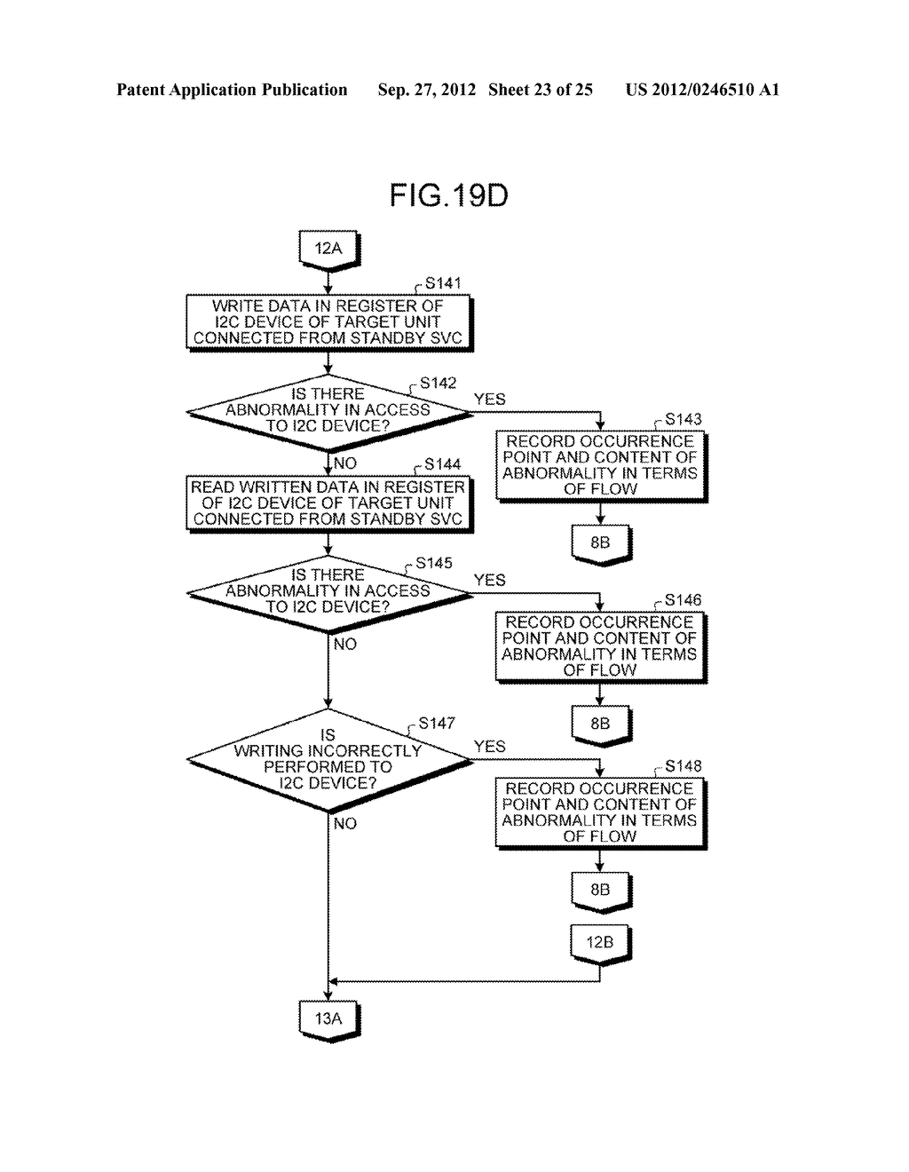 INFORMATION PROCESSING APPARATUS, CONTROL DEVICE, AND ABNORMAL UNIT     DETERMINATION METHOD - diagram, schematic, and image 24