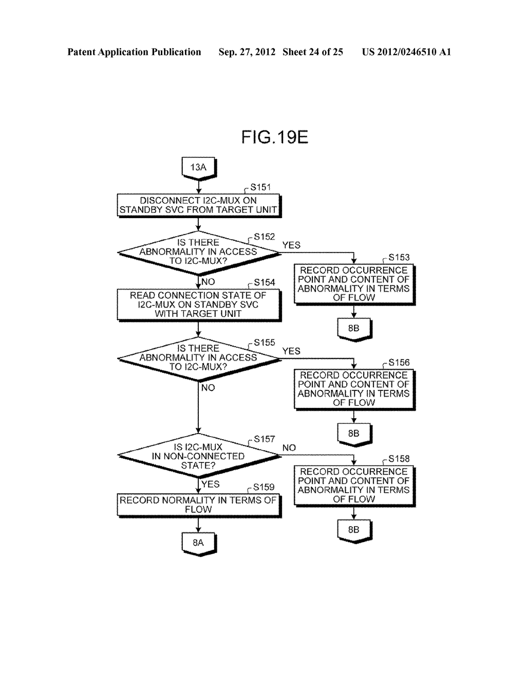 INFORMATION PROCESSING APPARATUS, CONTROL DEVICE, AND ABNORMAL UNIT     DETERMINATION METHOD - diagram, schematic, and image 25