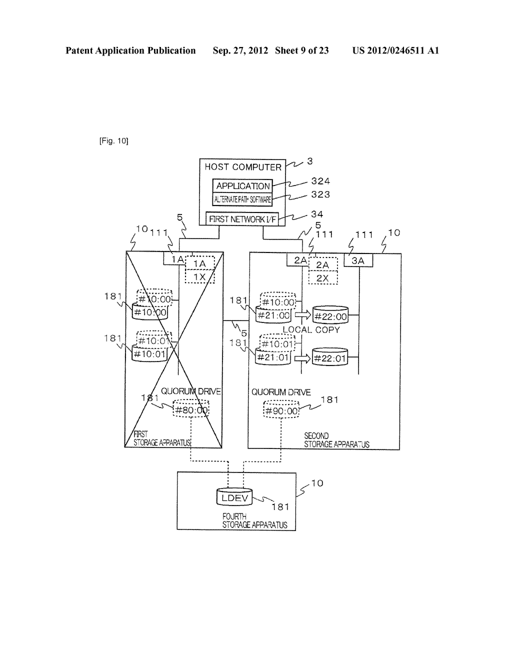 STORAGE SYSTEM AND METHOD OF CONTROLLING THE SAME - diagram, schematic, and image 10