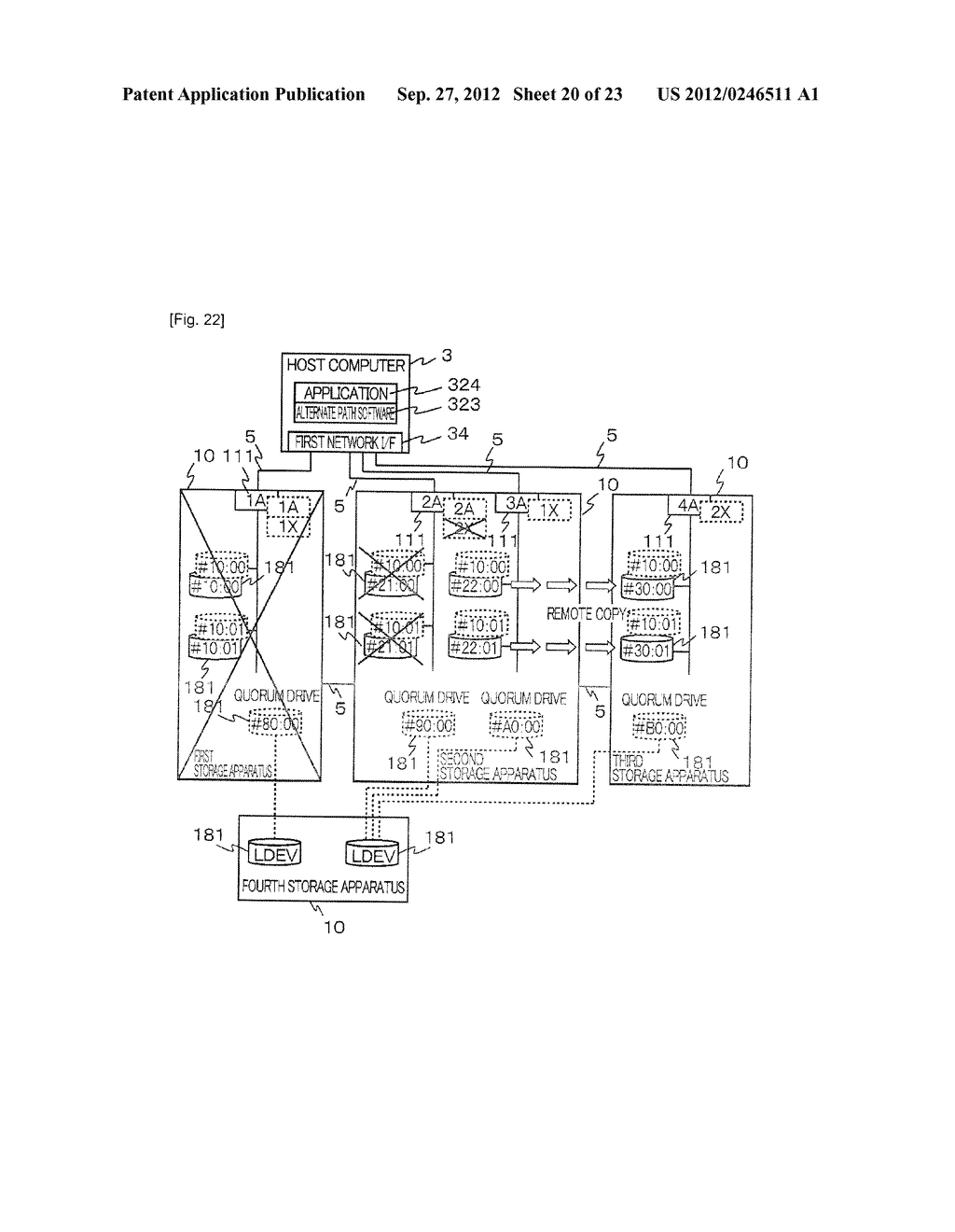 STORAGE SYSTEM AND METHOD OF CONTROLLING THE SAME - diagram, schematic, and image 21