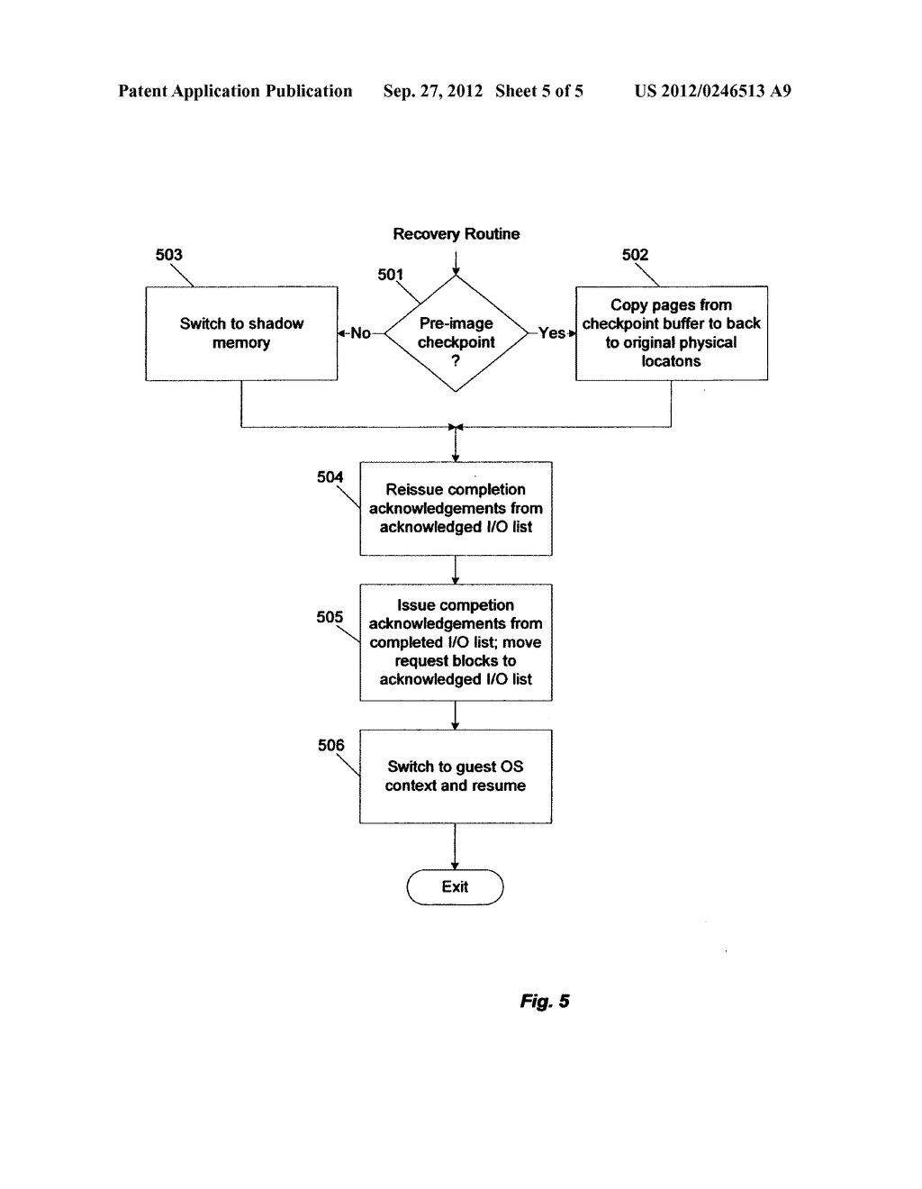 System-directed checkpointing implementation using a hypervisor layer - diagram, schematic, and image 06