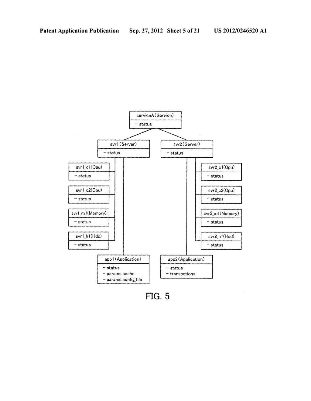 MONITORING METHOD, INFORMATION PROCESSING APPARATUS, AND COMPUTER-READABLE     MEDIUM STORING MONITORING PROGRAM - diagram, schematic, and image 06