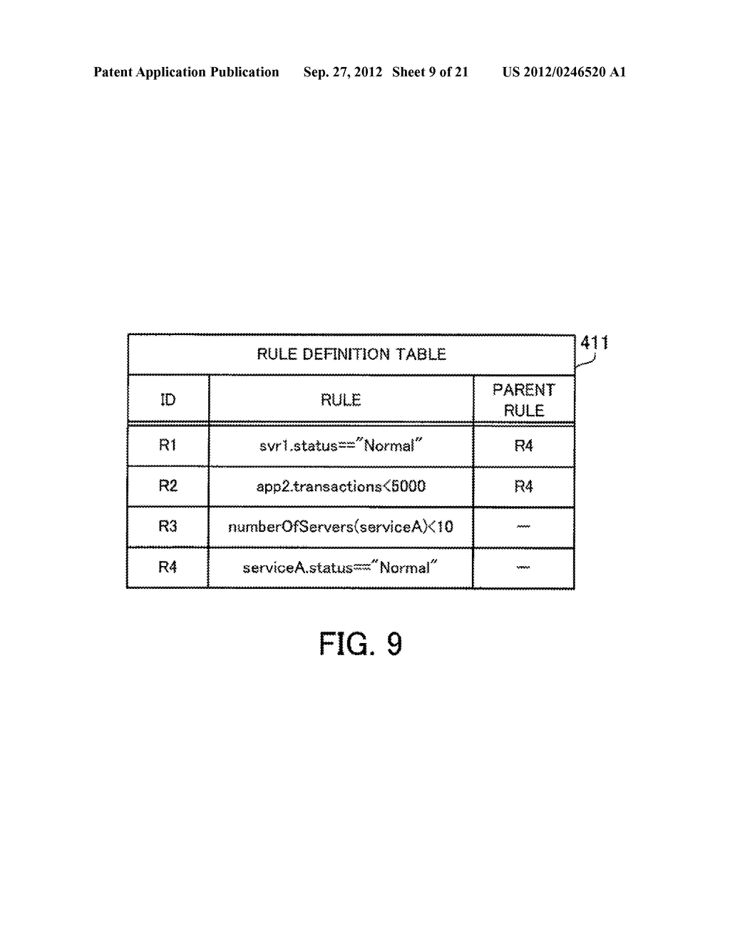 MONITORING METHOD, INFORMATION PROCESSING APPARATUS, AND COMPUTER-READABLE     MEDIUM STORING MONITORING PROGRAM - diagram, schematic, and image 10
