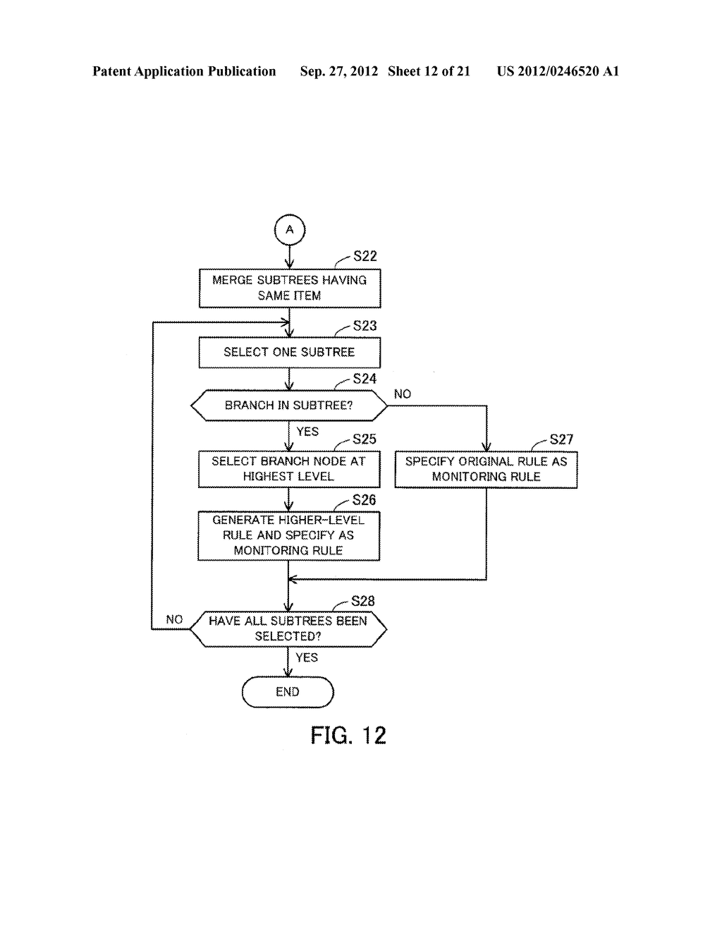 MONITORING METHOD, INFORMATION PROCESSING APPARATUS, AND COMPUTER-READABLE     MEDIUM STORING MONITORING PROGRAM - diagram, schematic, and image 13