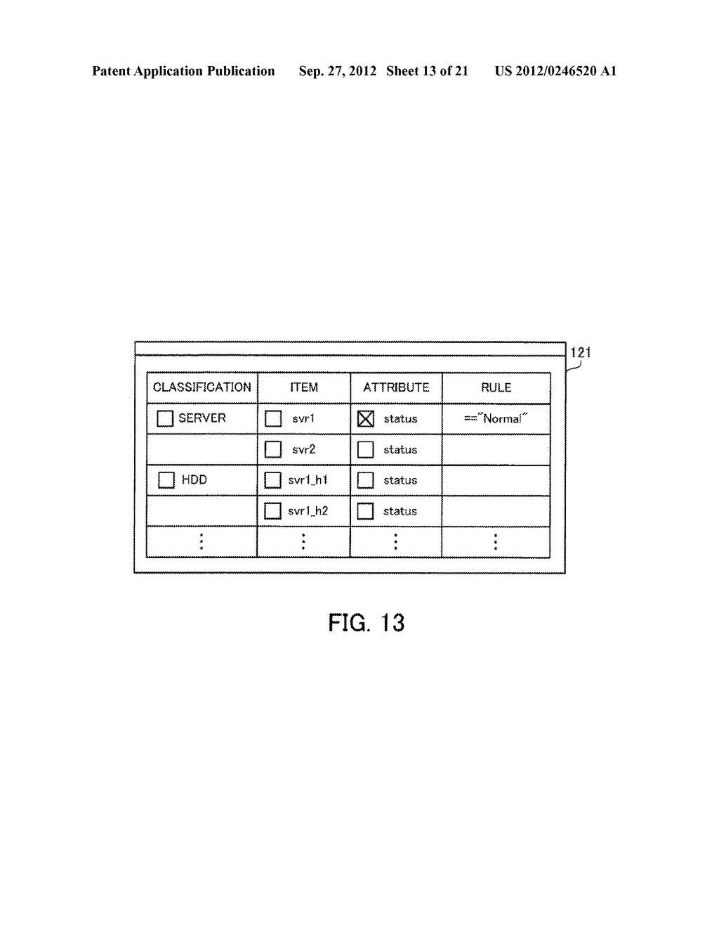 MONITORING METHOD, INFORMATION PROCESSING APPARATUS, AND COMPUTER-READABLE     MEDIUM STORING MONITORING PROGRAM - diagram, schematic, and image 14