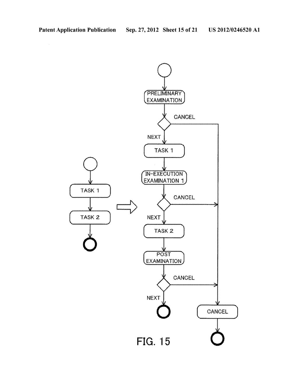 MONITORING METHOD, INFORMATION PROCESSING APPARATUS, AND COMPUTER-READABLE     MEDIUM STORING MONITORING PROGRAM - diagram, schematic, and image 16