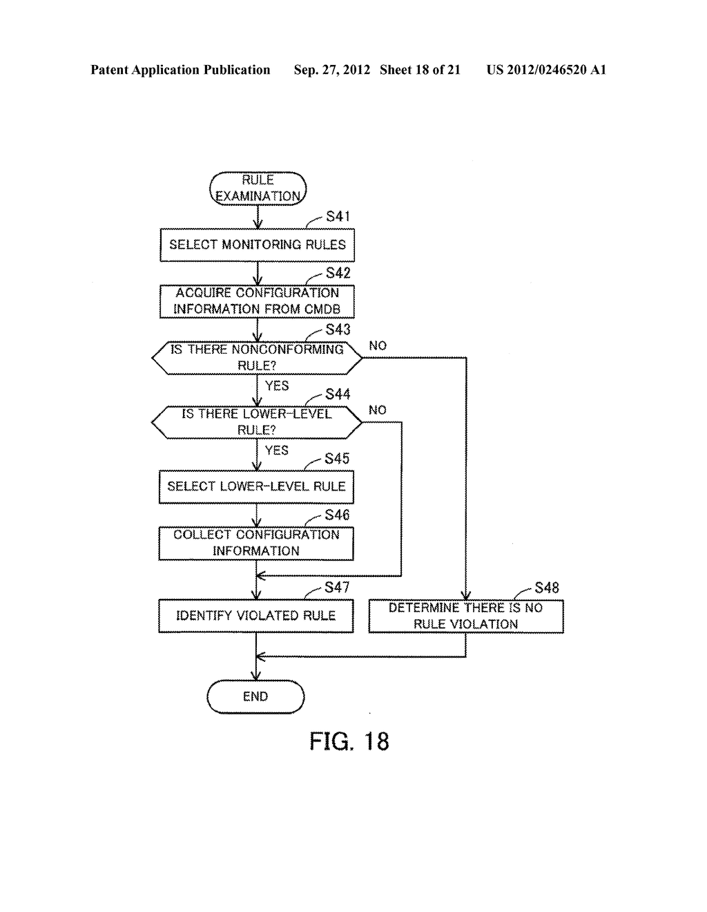MONITORING METHOD, INFORMATION PROCESSING APPARATUS, AND COMPUTER-READABLE     MEDIUM STORING MONITORING PROGRAM - diagram, schematic, and image 19