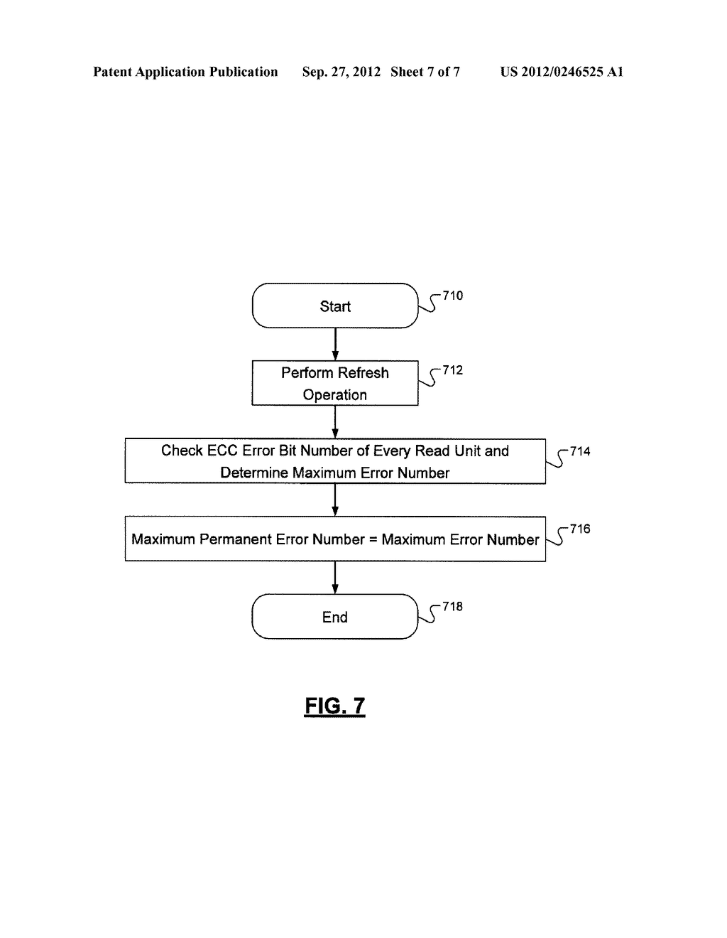 METHOD FOR INITIATING A REFRESH OPERATION IN A SOLID-STATE NONVOLATILE     MEMORY DEVICE - diagram, schematic, and image 08