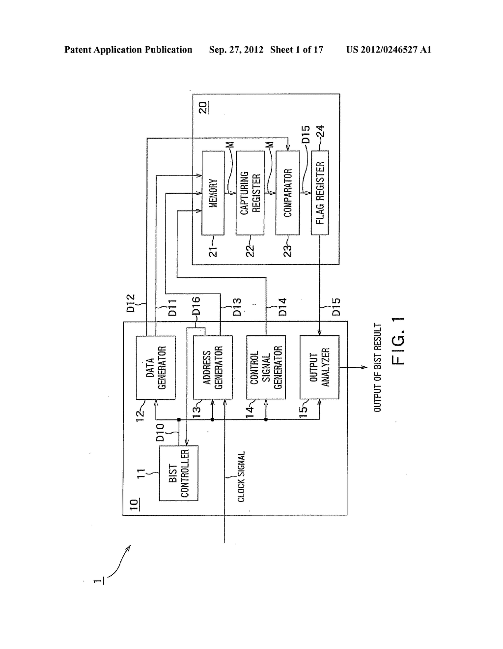 BUILT-IN SELF TEST CIRCUIT AND DESIGNING APPARATUS - diagram, schematic, and image 02