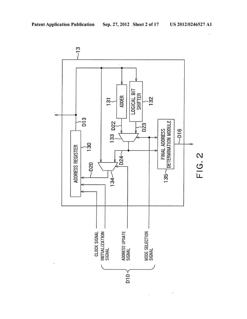 BUILT-IN SELF TEST CIRCUIT AND DESIGNING APPARATUS - diagram, schematic, and image 03