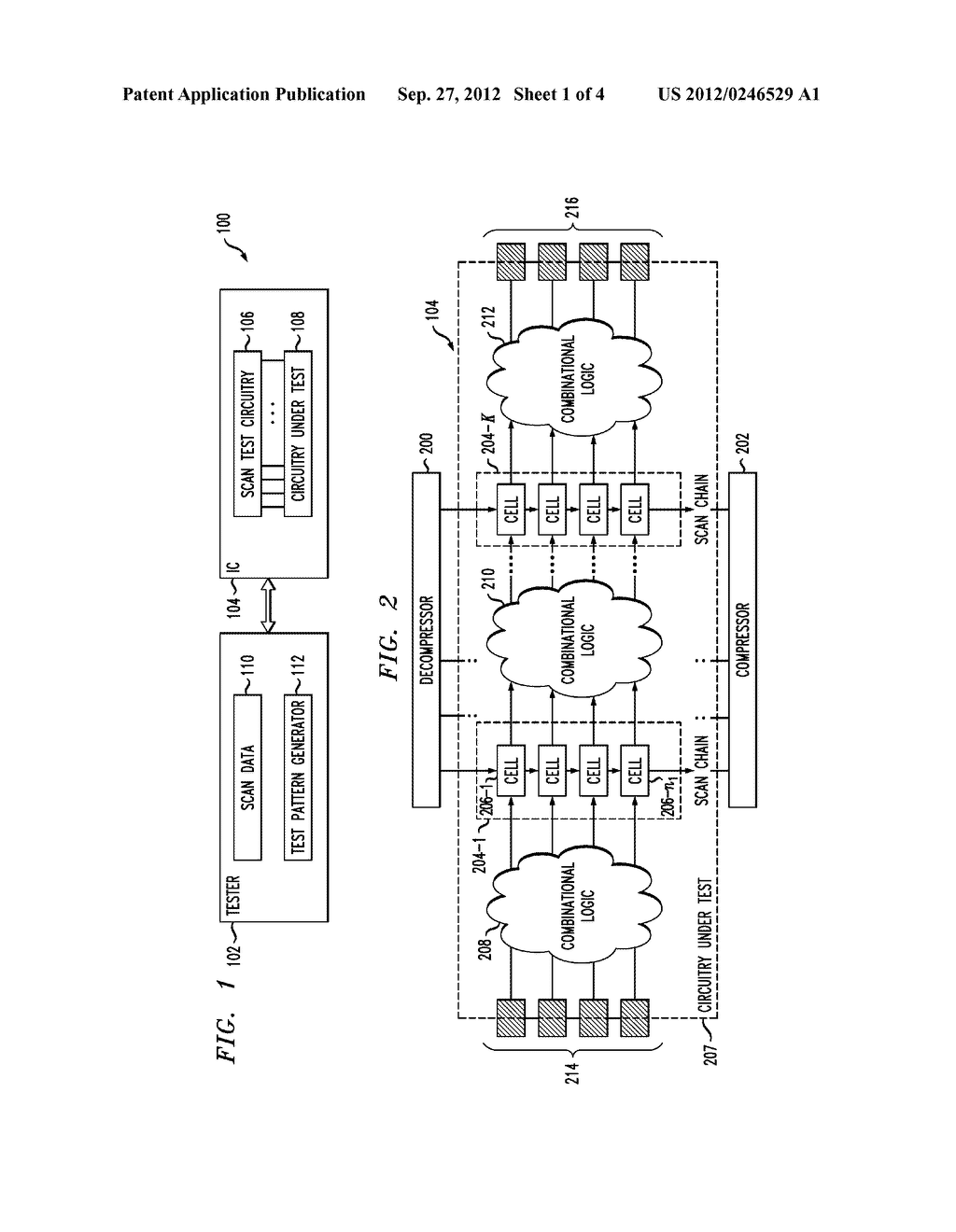 LOW-POWER AND AREA-EFFICIENT SCAN CELL FOR INTEGRATED CIRCUIT TESTING - diagram, schematic, and image 02