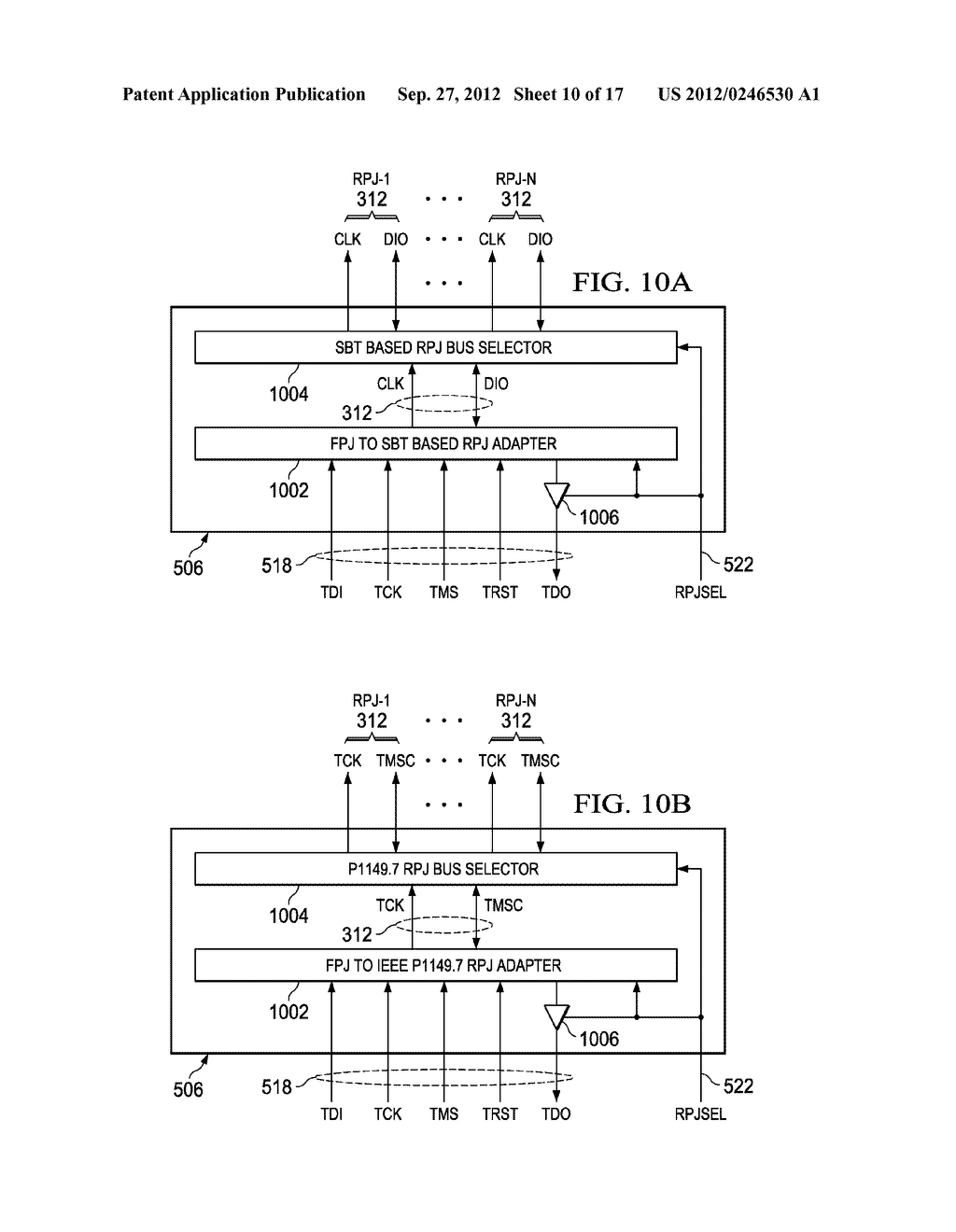 INTERFACE TO FULL AND REDUCE PIN JTAG DEVICES - diagram, schematic, and image 11