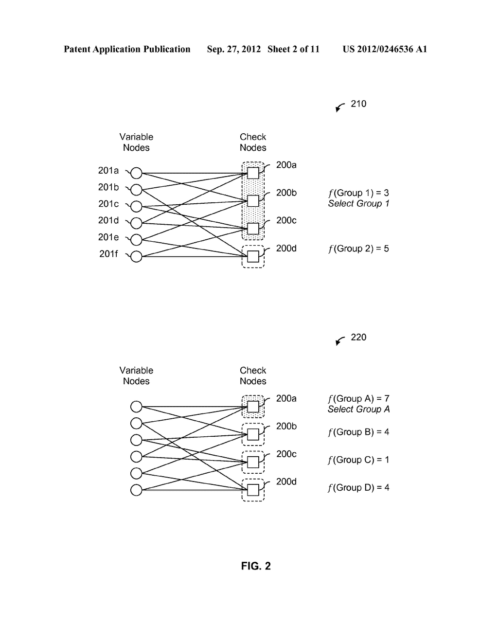 LDPC SELECTIVE DECODING SCHEDULING USING A COST FUNCTION - diagram, schematic, and image 03