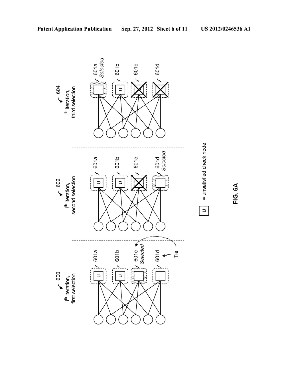 LDPC SELECTIVE DECODING SCHEDULING USING A COST FUNCTION - diagram, schematic, and image 07