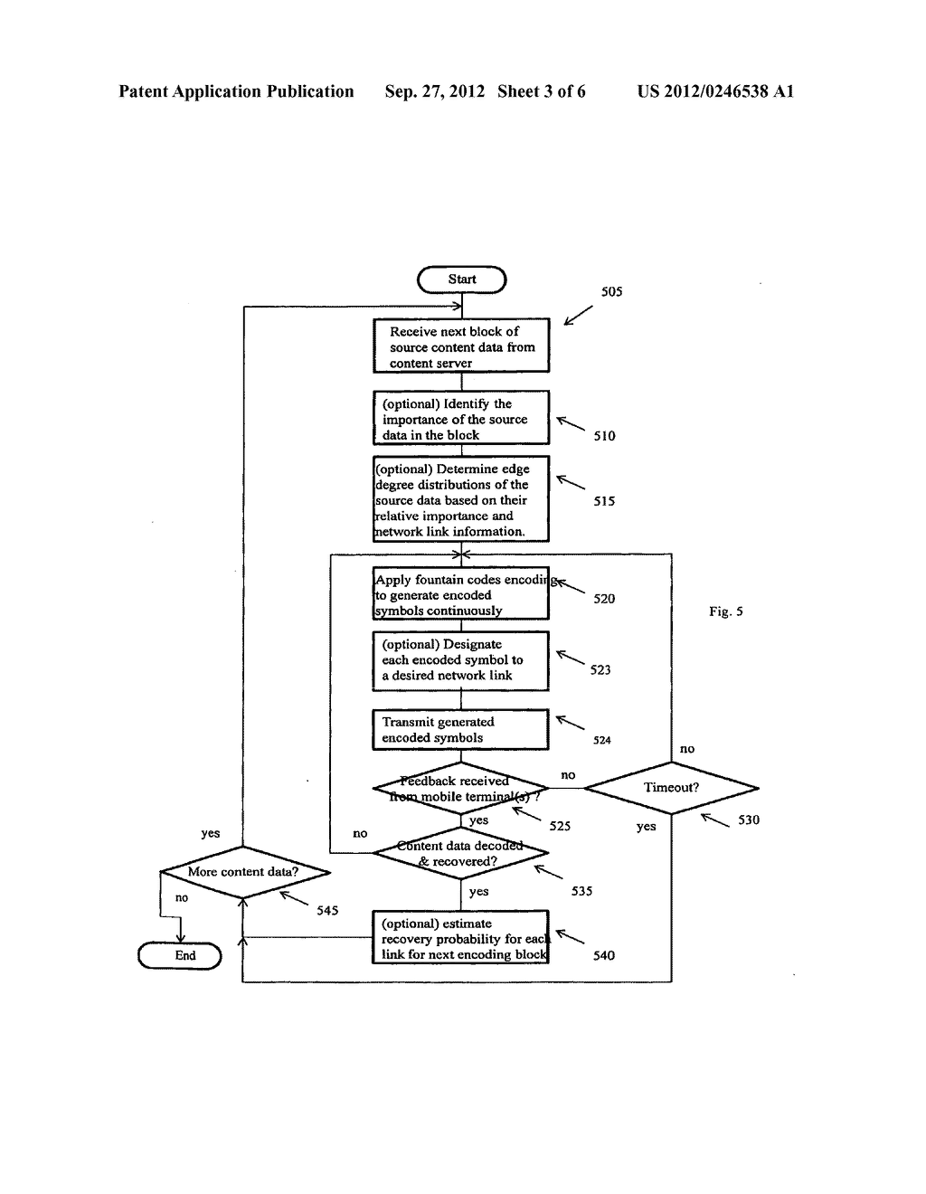 APPLICATION OF FOUNTAIN FORWARD ERROR CORRECTION CODES IN MULTI-LINK     MULTI-PATH MOBILE NETWORKS - diagram, schematic, and image 04