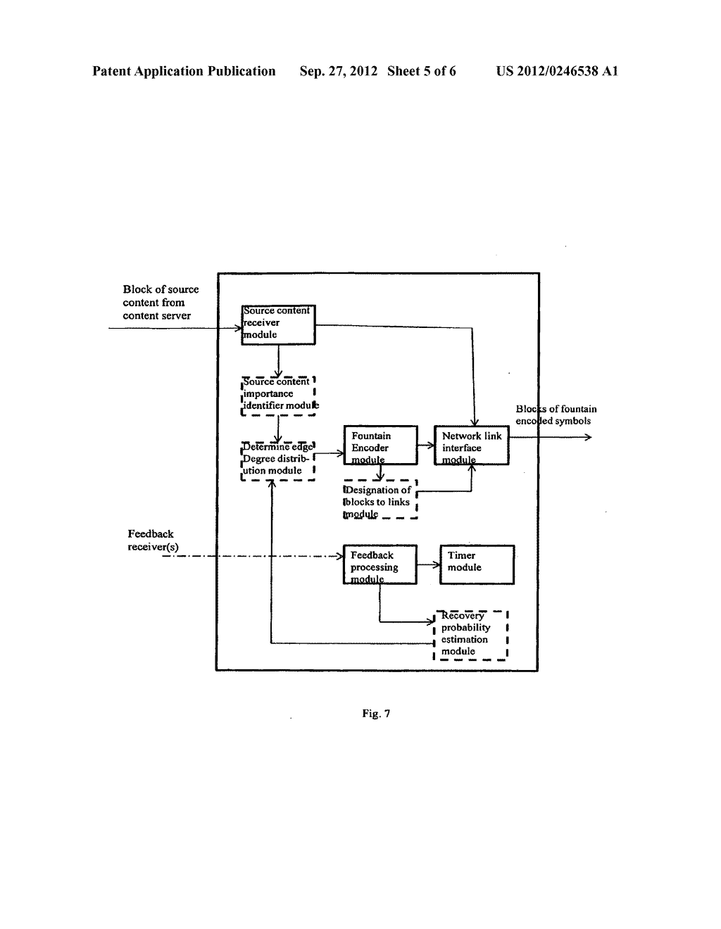 APPLICATION OF FOUNTAIN FORWARD ERROR CORRECTION CODES IN MULTI-LINK     MULTI-PATH MOBILE NETWORKS - diagram, schematic, and image 06