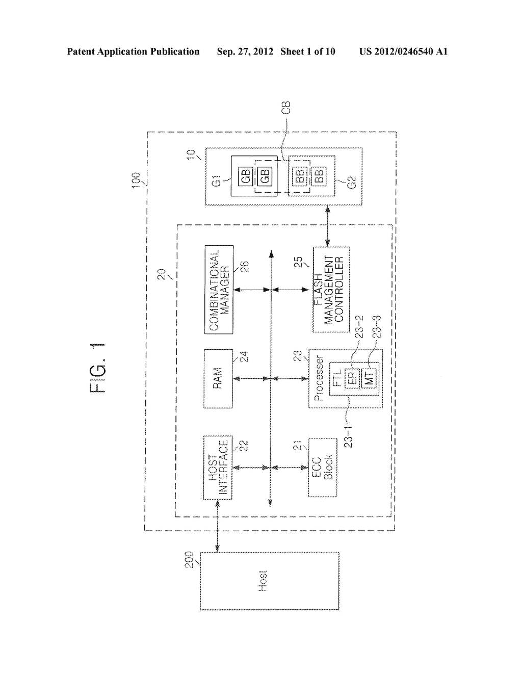MEMORY CONTROLLER, DEVICES INCLUDING THE SAME, AND OPERATING METHOD     THEREOF - diagram, schematic, and image 02