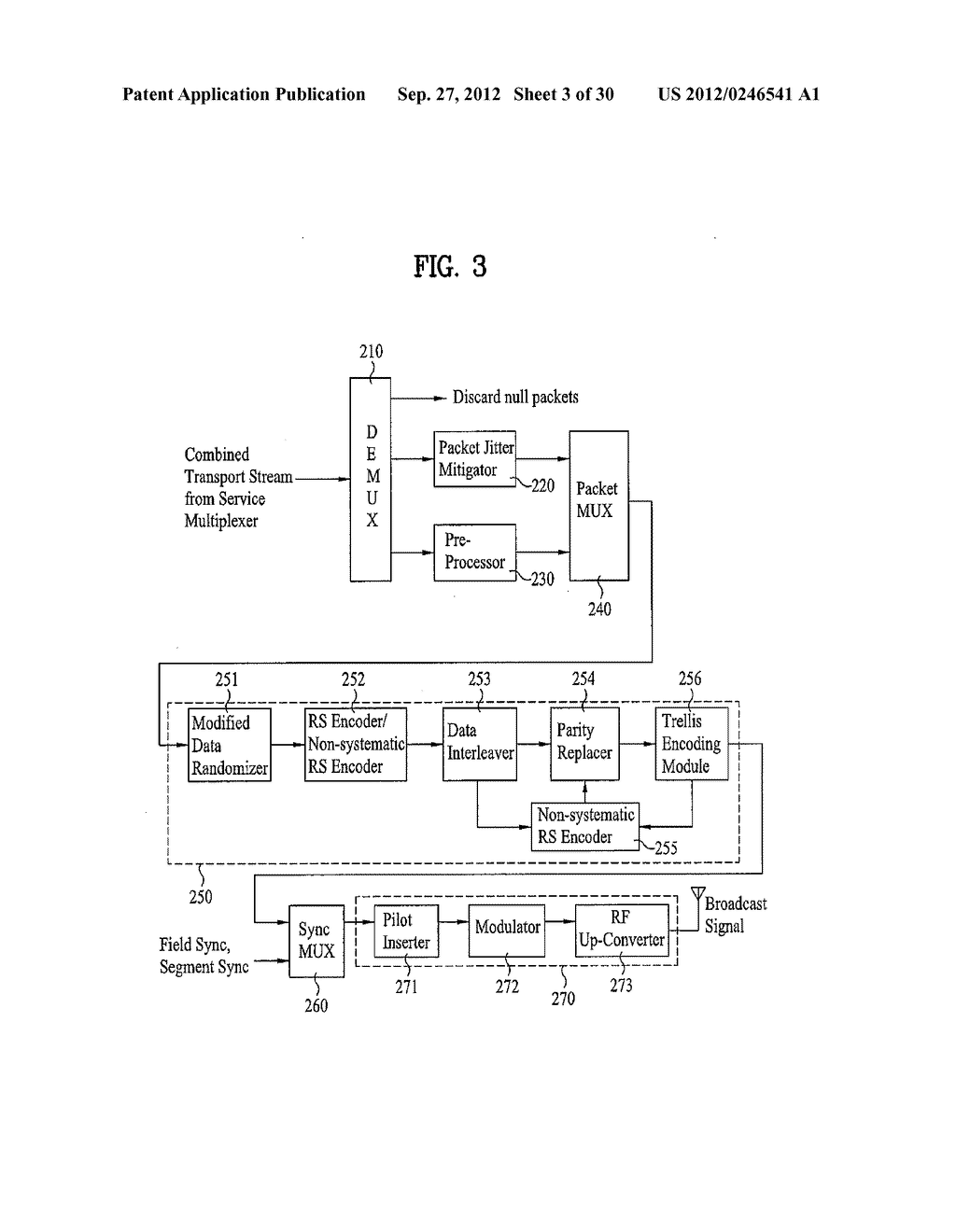 DTV RECEIVING SYSTEM AND METHOD OF PROCESSING DTV SIGNAL - diagram, schematic, and image 04