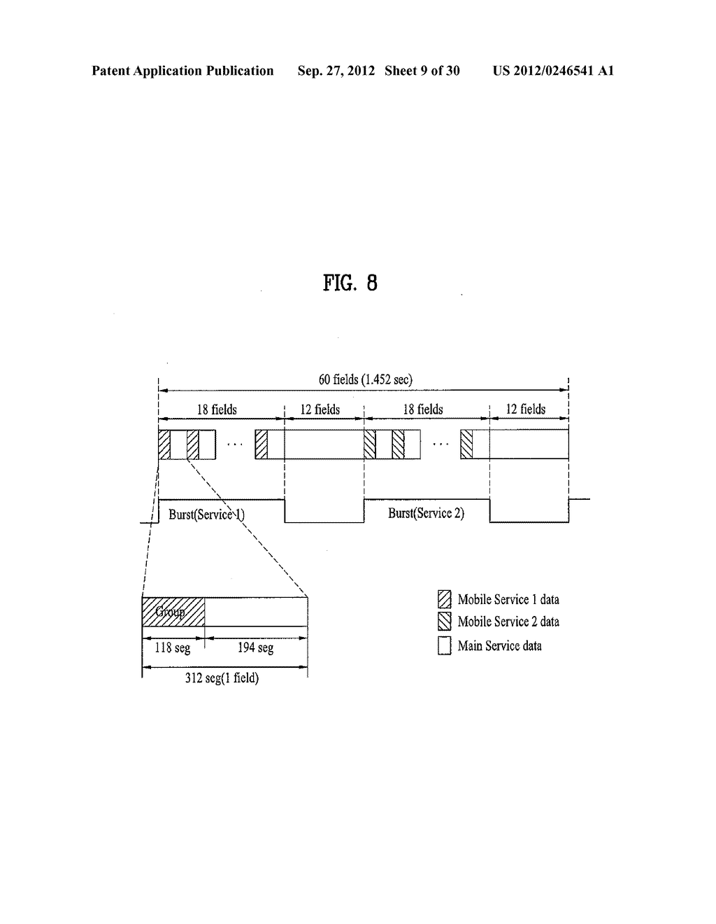 DTV RECEIVING SYSTEM AND METHOD OF PROCESSING DTV SIGNAL - diagram, schematic, and image 10