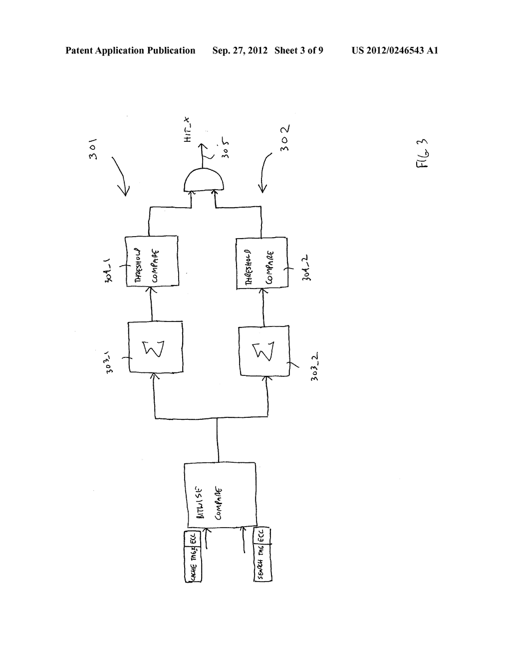 APPARATUS AND METHOD FOR FAST TAG HIT - diagram, schematic, and image 04
