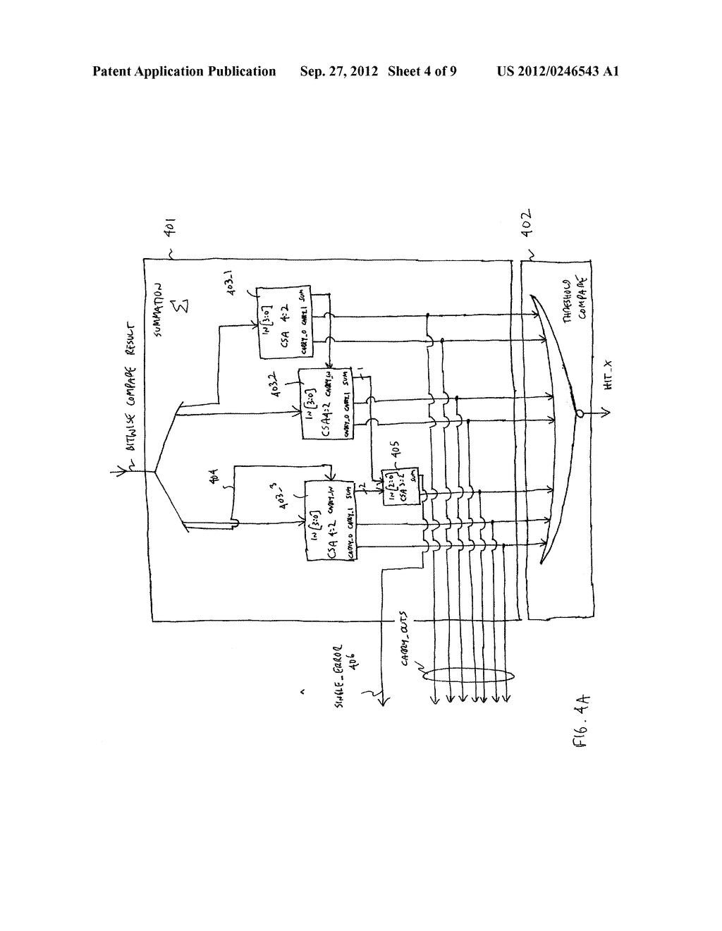 APPARATUS AND METHOD FOR FAST TAG HIT - diagram, schematic, and image 05
