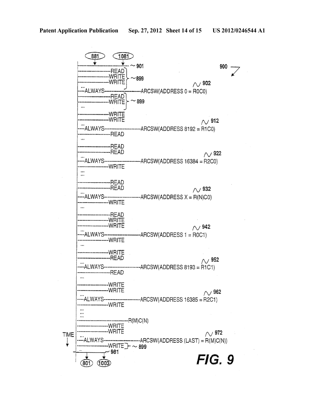 METHOD AND APPARATUS FOR MEMORY READ-REFRESH, SCRUBBING AND VARIABLE-RATE     REFRESH - diagram, schematic, and image 15