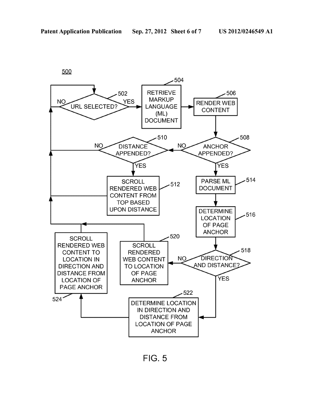 AUTOMATED CONFIGURATION OF LOCATION-SPECIFIC PAGE ANCHORS - diagram, schematic, and image 07