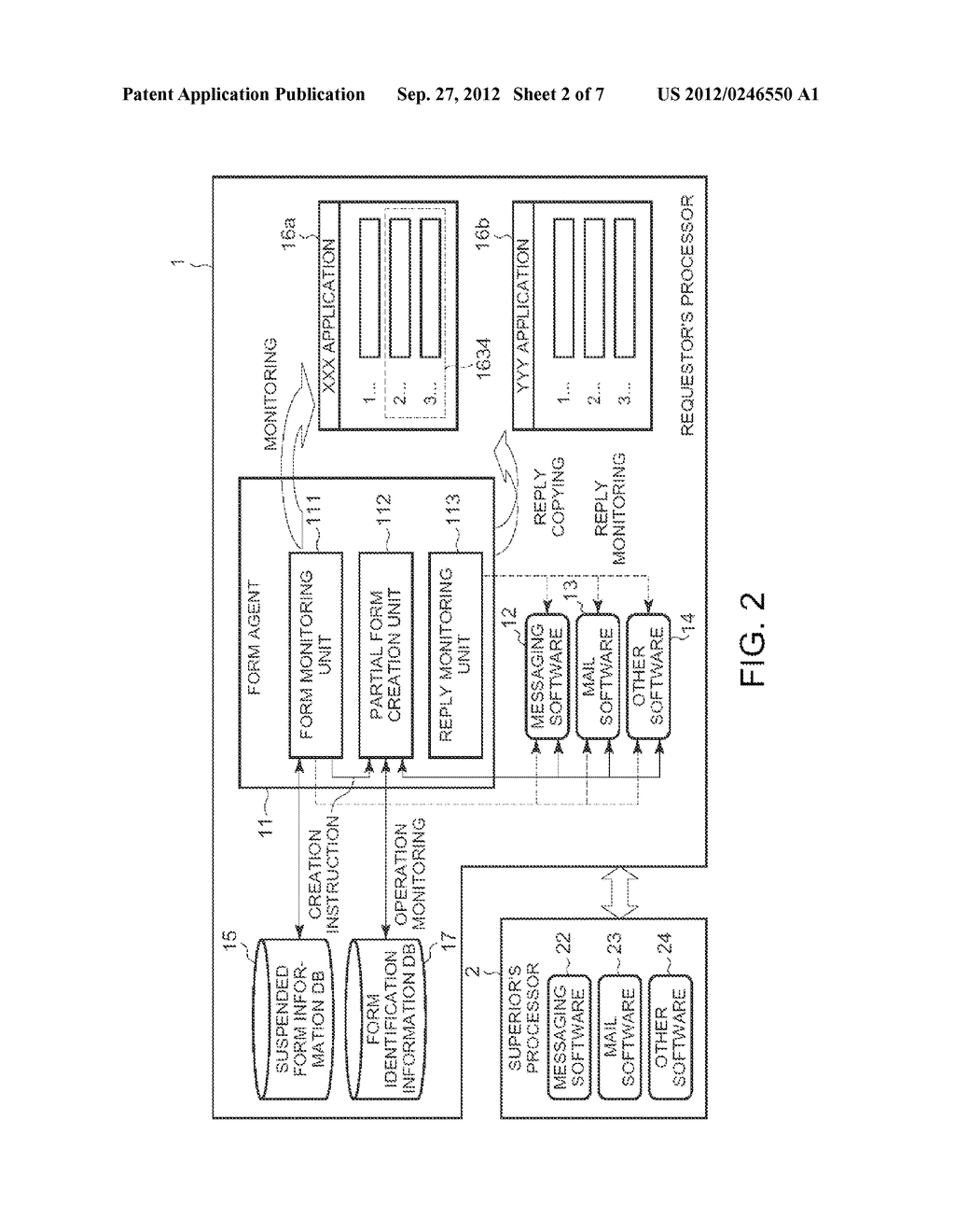 METHOD OF INPUTTING INFORMATION INTO AN ELECTRONIC FORM - diagram, schematic, and image 03
