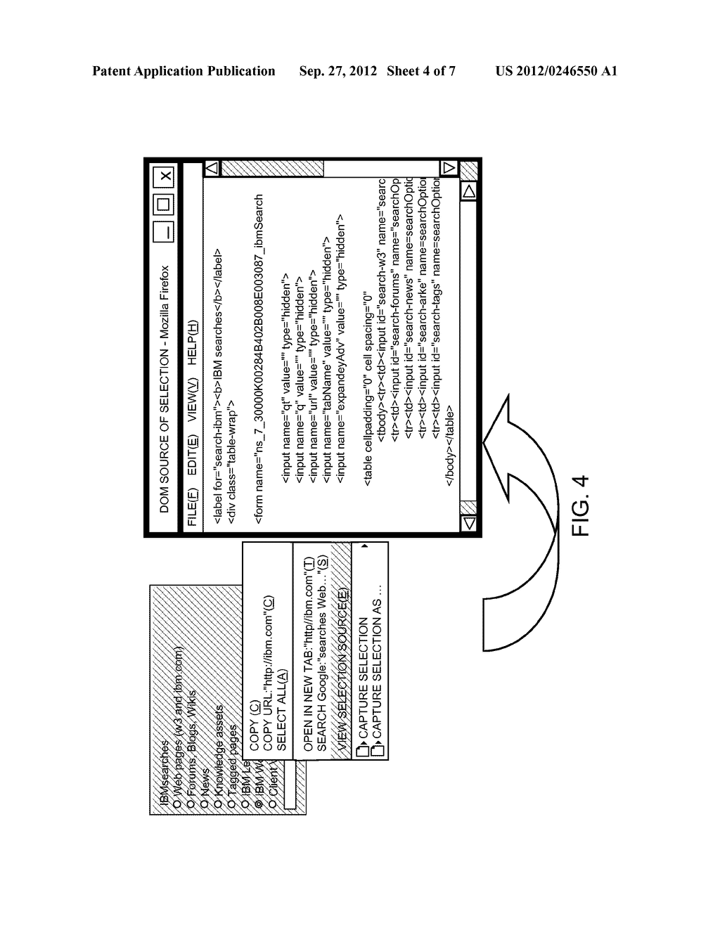 METHOD OF INPUTTING INFORMATION INTO AN ELECTRONIC FORM - diagram, schematic, and image 05