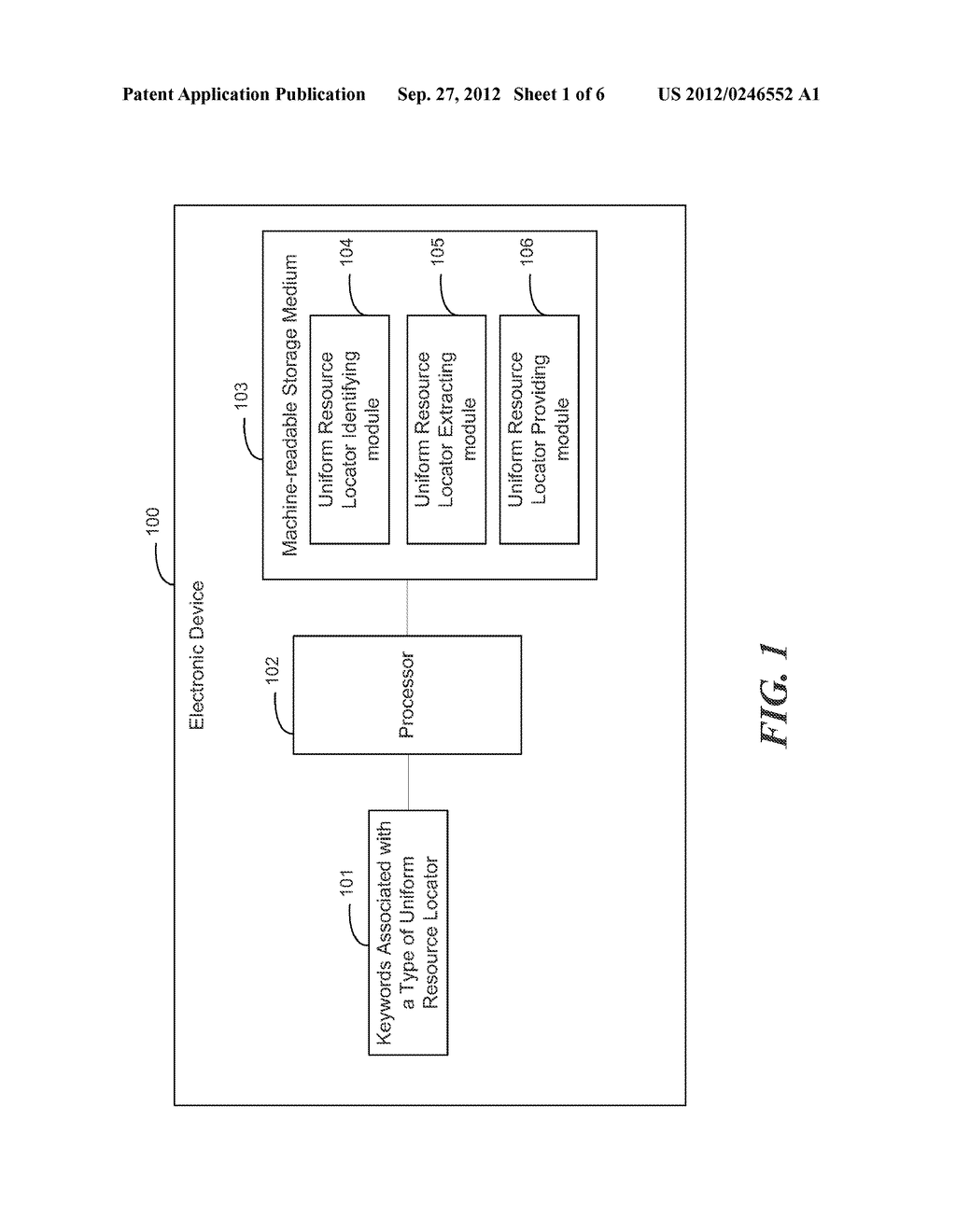 PROVIDING A PARTICULAR TYPE OF UNIFORM RESOURCE LOCATOR - diagram, schematic, and image 02
