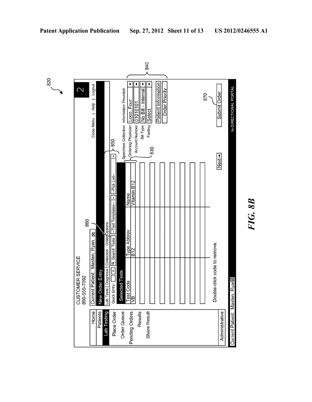 SYSTEMS AND METHODS FOR SUBMITTING A REQUEST FOR GOODS, SERVICES, AND/OR     INFORMATION, SUCH AS GOODS, SERVICES, OR INFORMATION RELATED TO     HEALTHCARE - diagram, schematic, and image 12