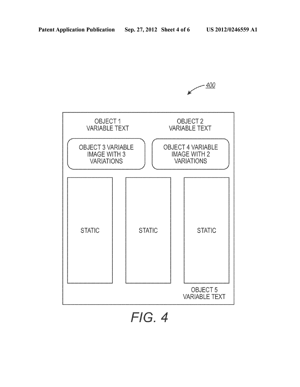METHOD AND SYSTEM FOR ESTIMATING VARIABLE DATA DOCUMENT CONVERSION TIME - diagram, schematic, and image 05