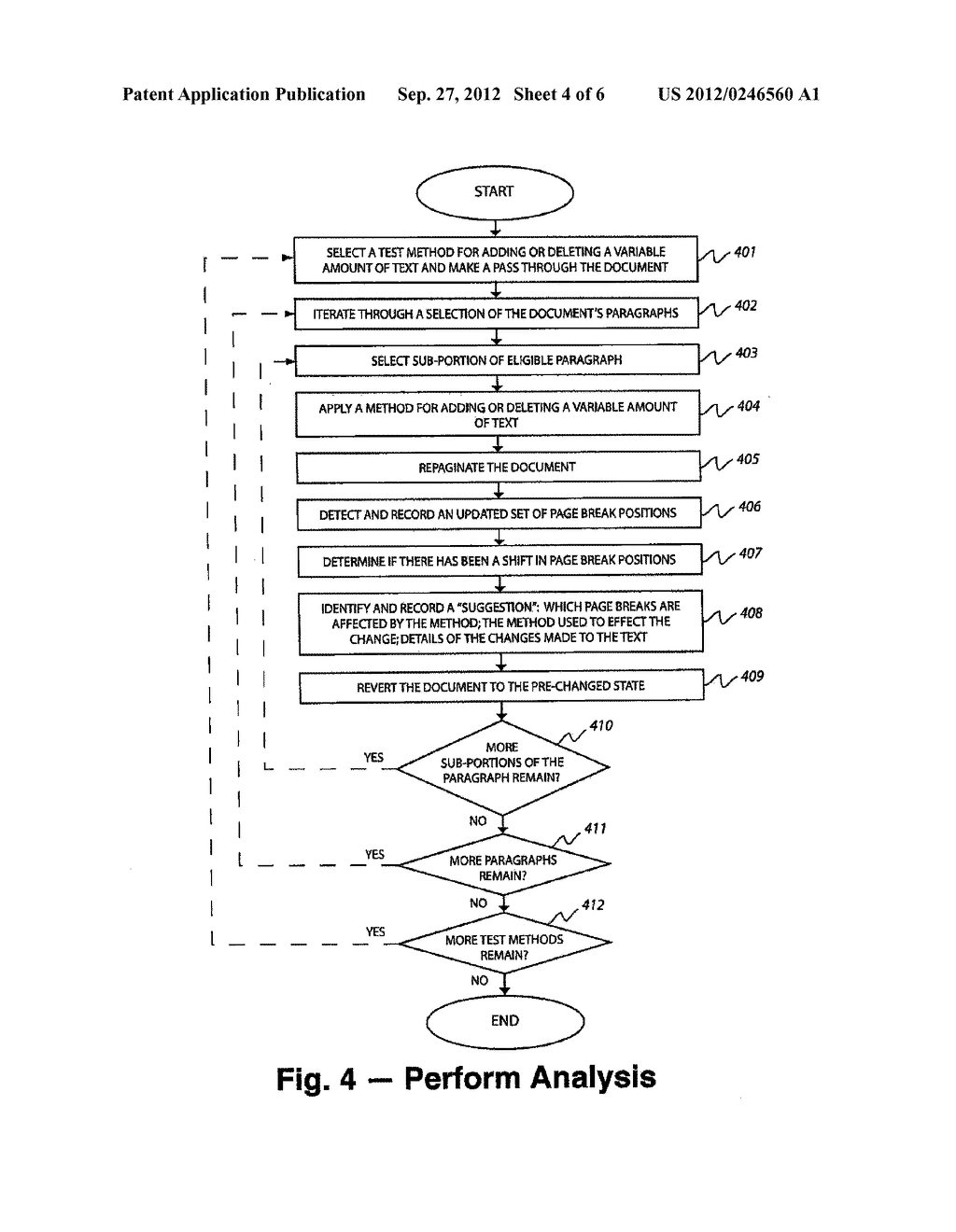 METHOD AND SYSTEM OF IDENTIFYING TEXTUAL PASSAGES THAT AFFECT DOCUMENT     LENGTH - diagram, schematic, and image 05
