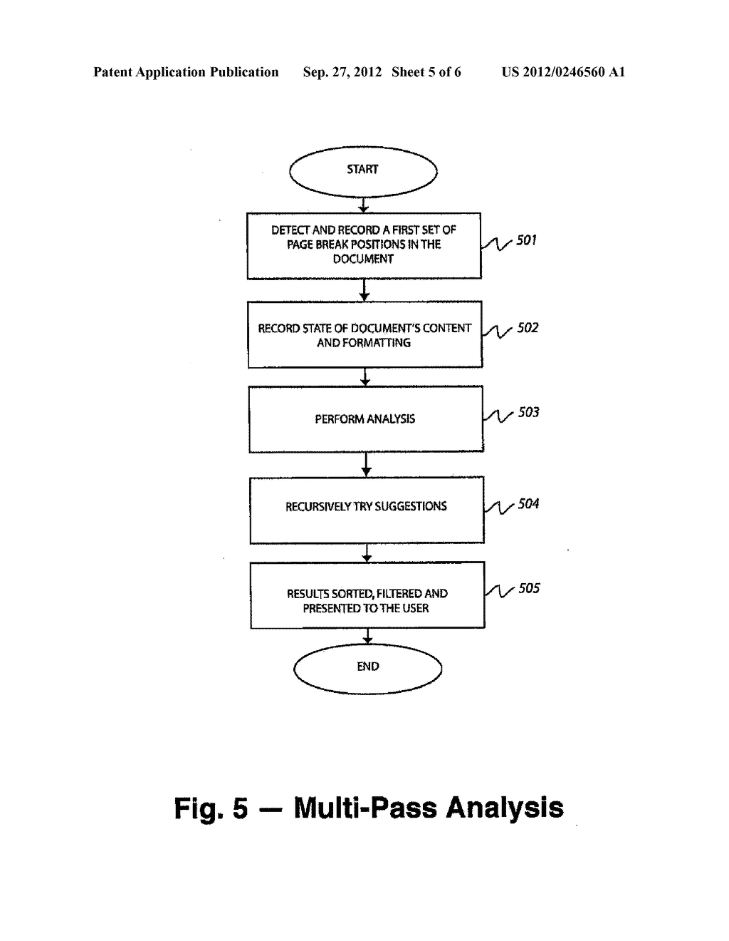 METHOD AND SYSTEM OF IDENTIFYING TEXTUAL PASSAGES THAT AFFECT DOCUMENT     LENGTH - diagram, schematic, and image 06
