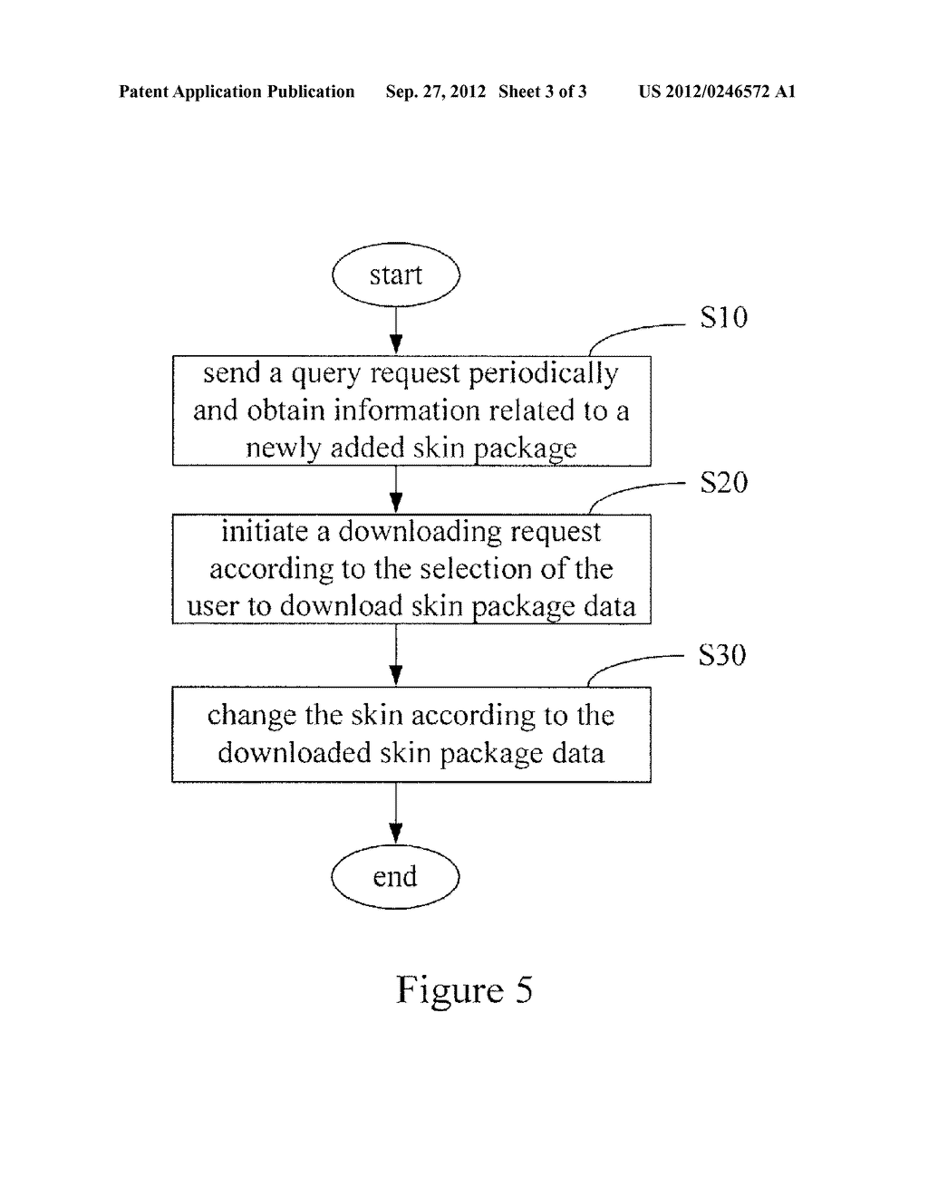 SYSTEM AND METHOD FOR CHANGING INTERFACE SKIN - diagram, schematic, and image 04