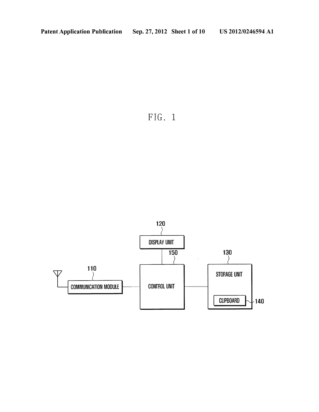 METHOD AND APPARATUS OF MANAGING ITEMS ON CLIPBOARD OF PORTABLE TERMINAL - diagram, schematic, and image 02