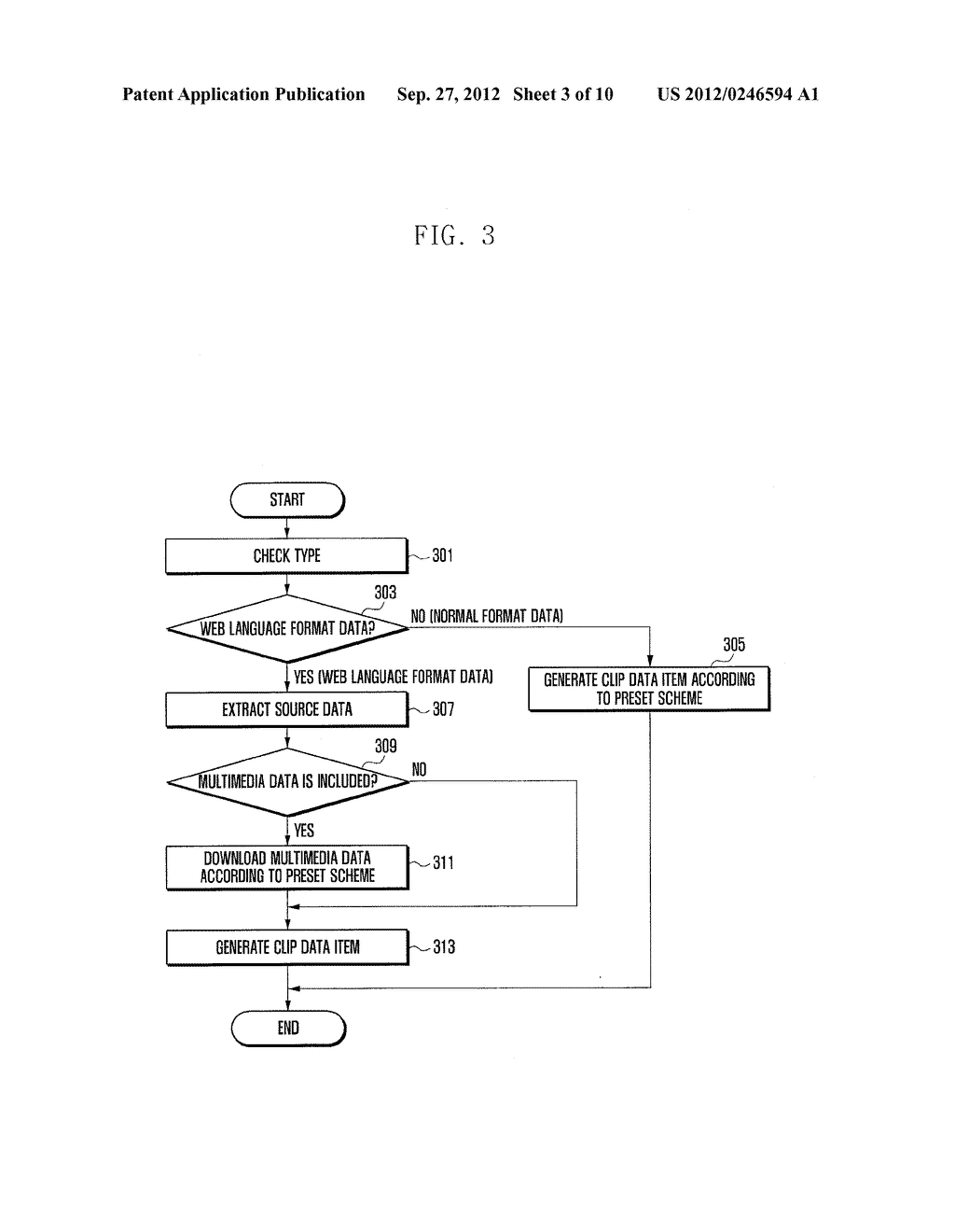METHOD AND APPARATUS OF MANAGING ITEMS ON CLIPBOARD OF PORTABLE TERMINAL - diagram, schematic, and image 04