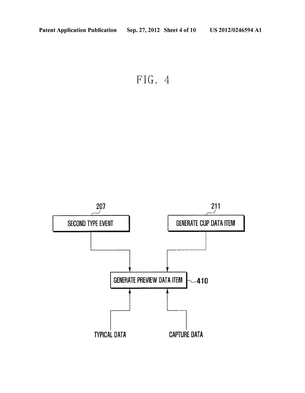 METHOD AND APPARATUS OF MANAGING ITEMS ON CLIPBOARD OF PORTABLE TERMINAL - diagram, schematic, and image 05