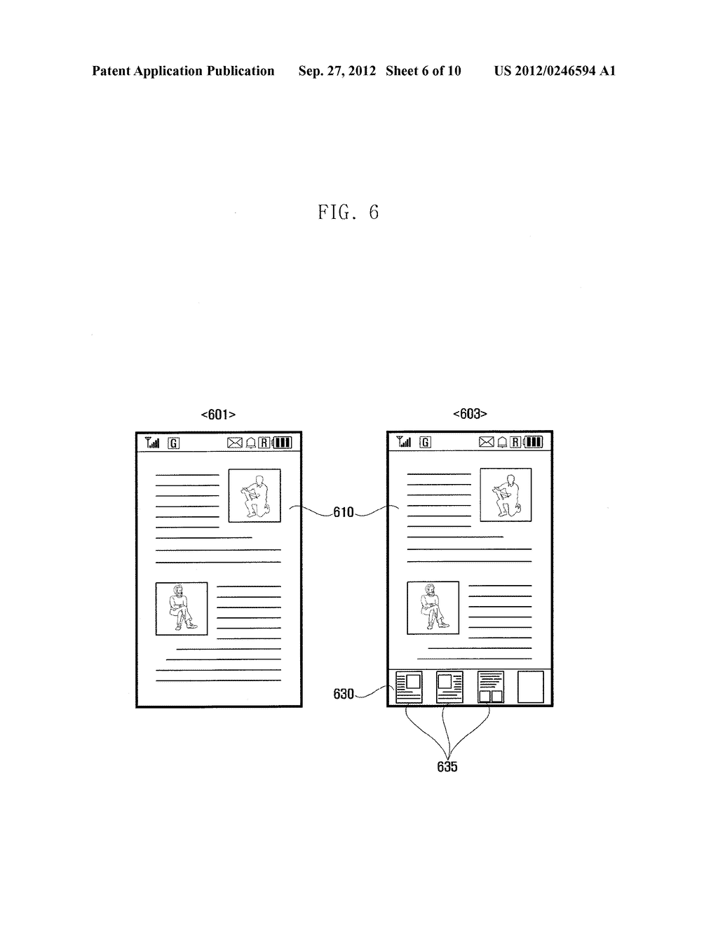 METHOD AND APPARATUS OF MANAGING ITEMS ON CLIPBOARD OF PORTABLE TERMINAL - diagram, schematic, and image 07