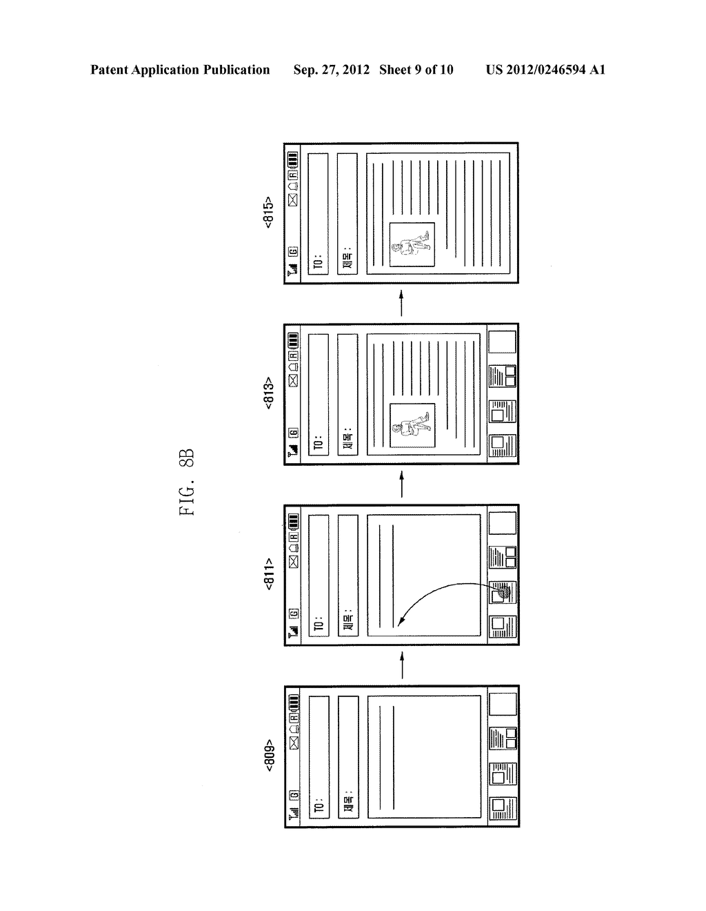 METHOD AND APPARATUS OF MANAGING ITEMS ON CLIPBOARD OF PORTABLE TERMINAL - diagram, schematic, and image 10