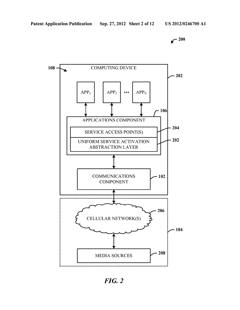 QoS CHANNELS FOR MULTIMEDIA SERVICES ON A GENERAL PURPOSE OPERATING SYSTEM     PLATFORM USING DATA CARDS - diagram, schematic, and image 03