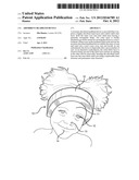 Absorbent Headband Device diagram and image