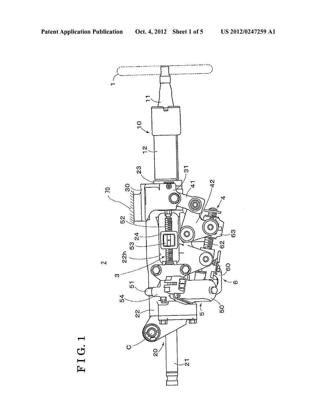STEERING APPARATUS FOR VEHICLE - diagram, schematic, and image 02