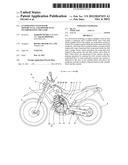 EVAPORATION SYSTEM FOR MOTORCYCLE, AND MOTORCYCLE INCORPORATING THE SAME diagram and image