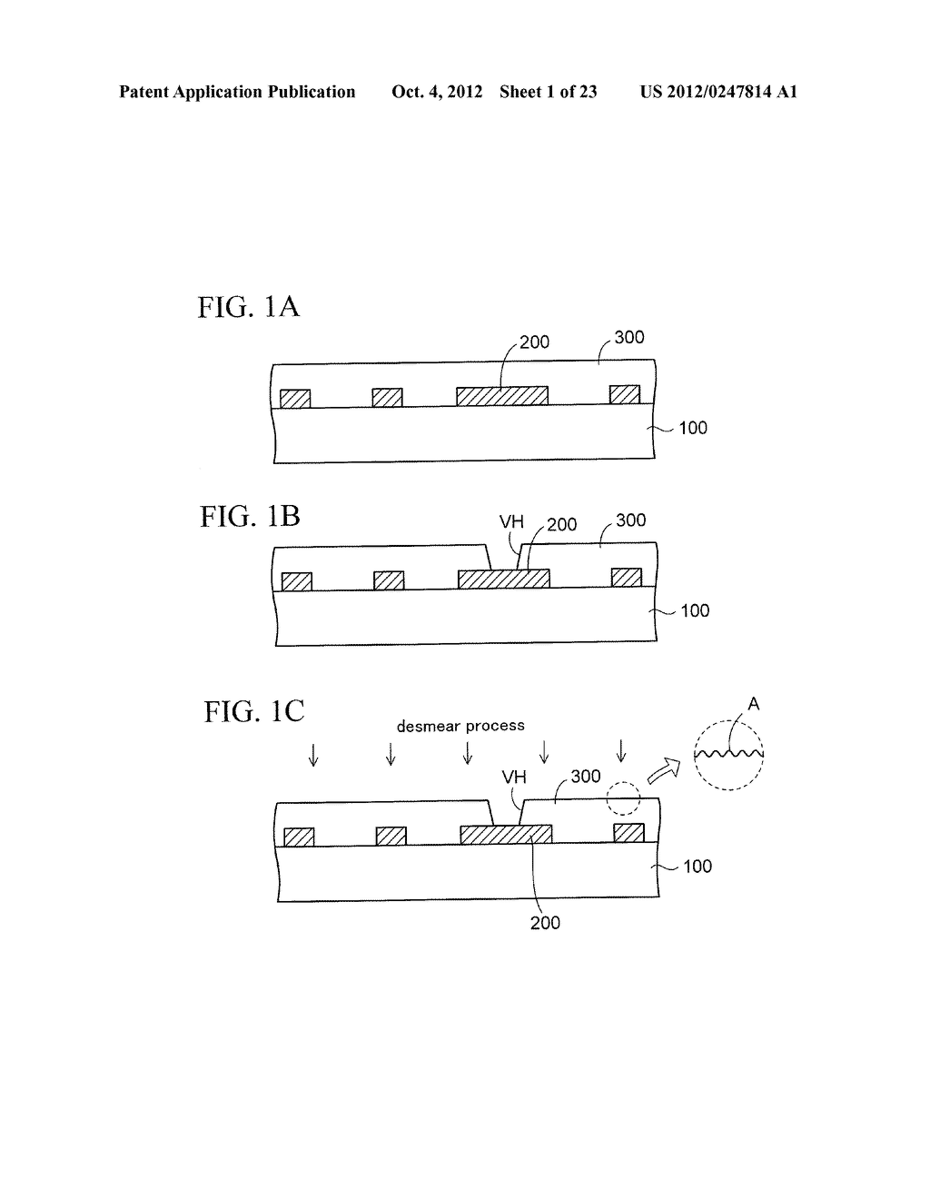 WIRING SUBSTRATE AND METHOD OF MANUFACTURING THE SAME - diagram, schematic, and image 02