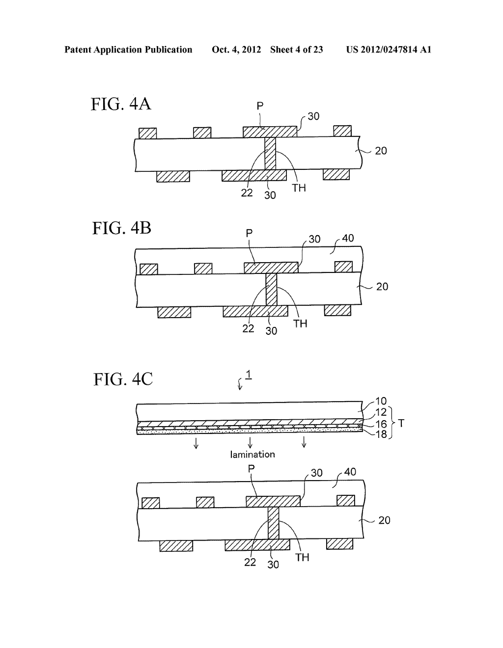 WIRING SUBSTRATE AND METHOD OF MANUFACTURING THE SAME - diagram, schematic, and image 05