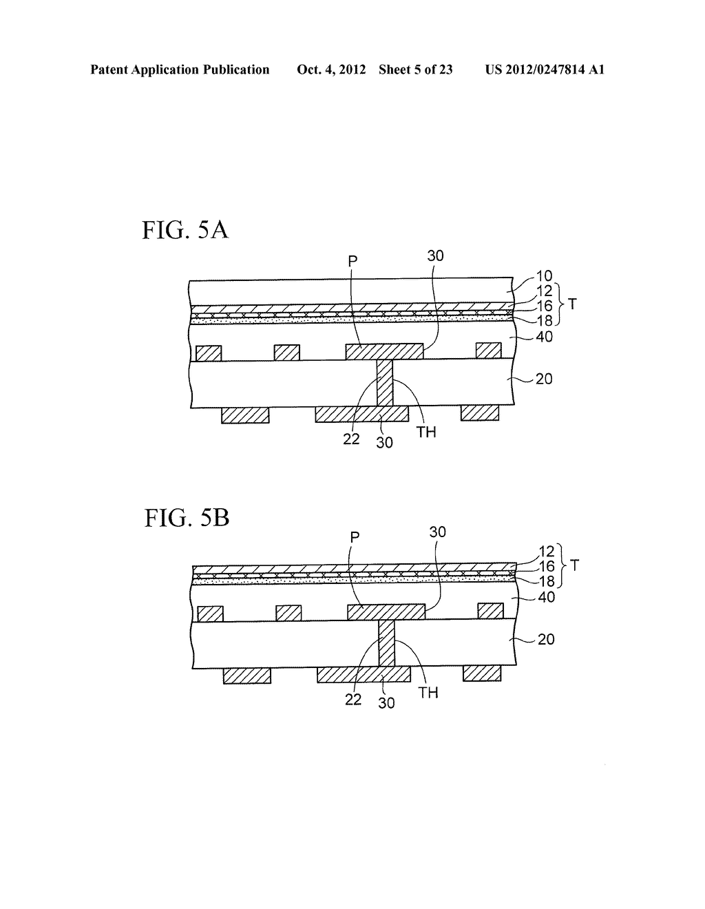 WIRING SUBSTRATE AND METHOD OF MANUFACTURING THE SAME - diagram, schematic, and image 06