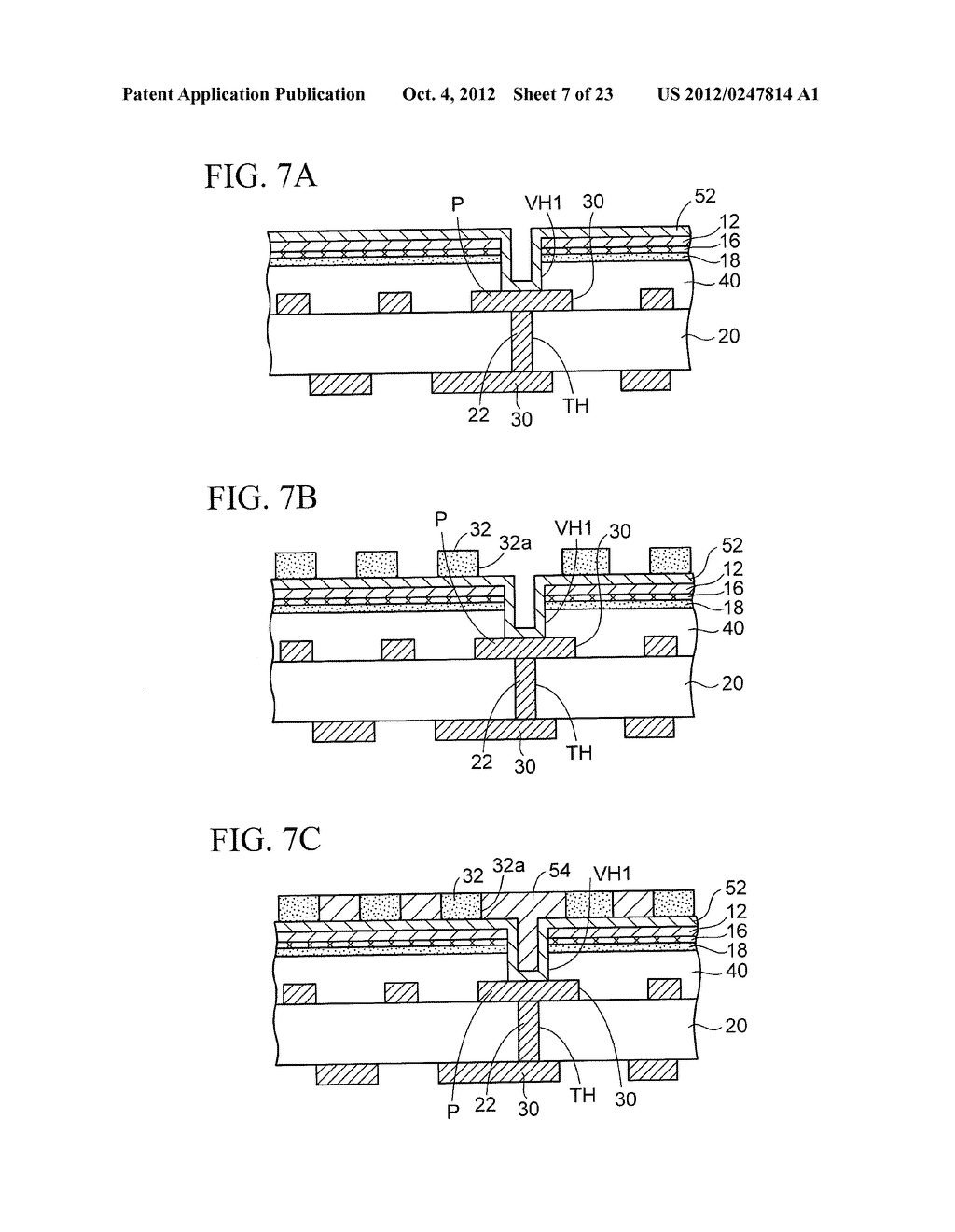 WIRING SUBSTRATE AND METHOD OF MANUFACTURING THE SAME - diagram, schematic, and image 08
