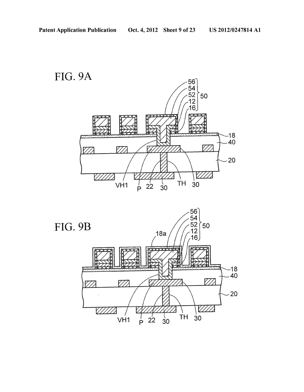 WIRING SUBSTRATE AND METHOD OF MANUFACTURING THE SAME - diagram, schematic, and image 10